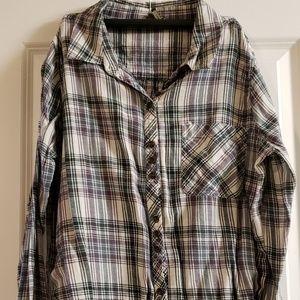 BKE plaid shirt.